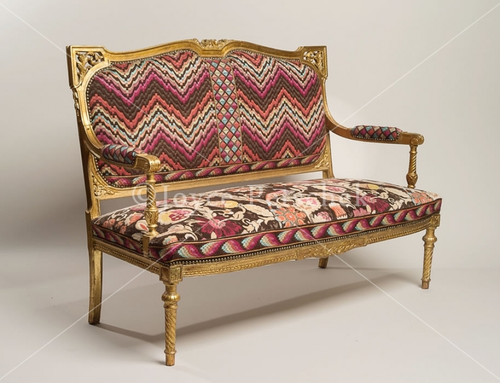 Divanetto, Italian Two Seated Settee