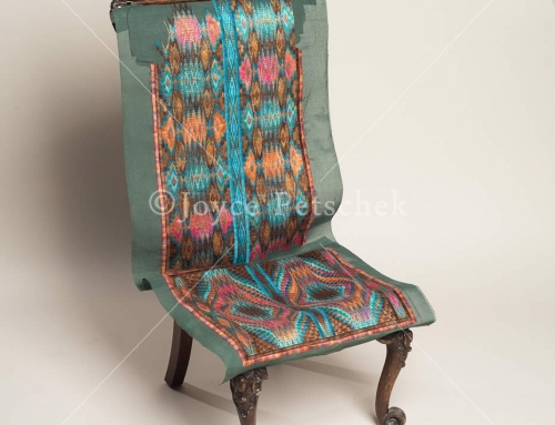 Duality, Antique English Prayer Chair
