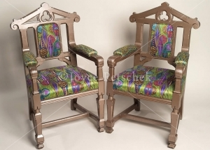 Infinity English Victorian Gothic Style Chairs