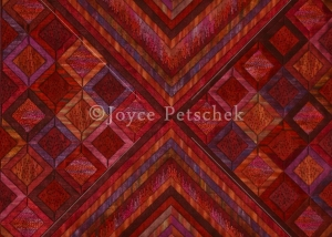 Joyce Petschek - Red Diamonds