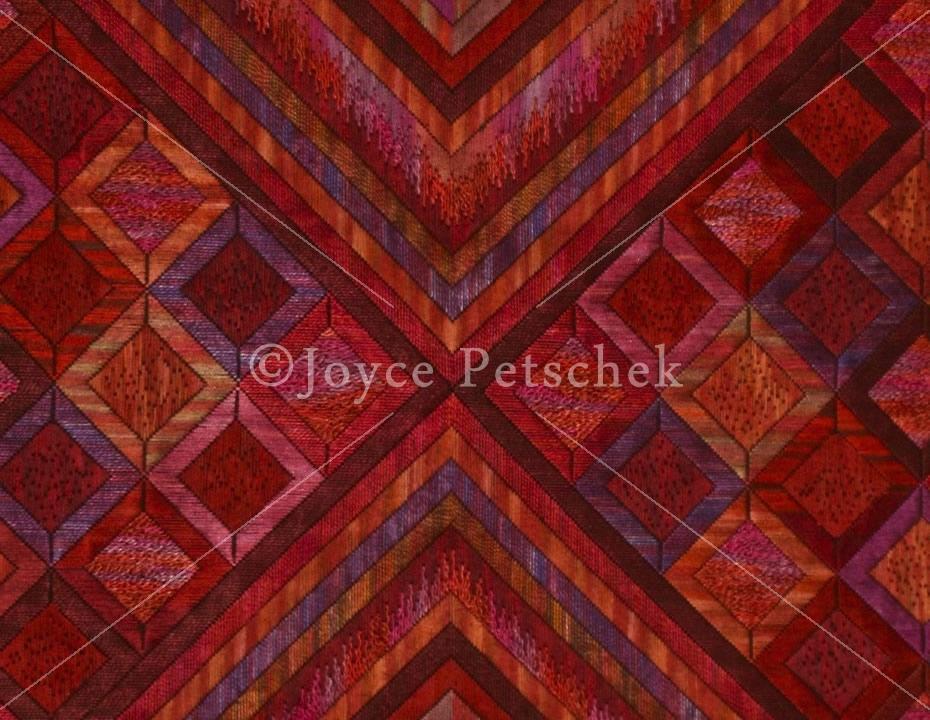 Joyce Petschek - Red Diamonds